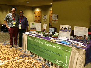SEED Associate Directors Jondou Chase Chen and Gail Cruise-Roberson at NAME 2014