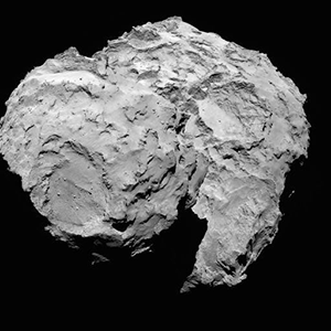 Comet 67P. Photo credit: European Space Agency, under a CC BY-SA 2.0 license